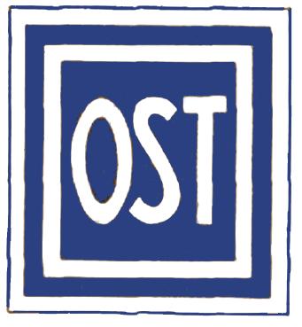 """Am 20. Februar 1942 führten die sogenannten """"Ostarbeiter-Erlasse"""" zur Kennzeichnung der Arbeitskräfte aus den besetzten Sowjet-Gebieten. Einen solchen Aufnäher mussten auch die Zwangsarbeiter*innen aus dem osteuropäischen Gebieten auf der Kleidung tragen. (c) CC BY-SA, http://commons.wikimedia.org/wiki/File:Ostarbeiter-Abzeichen.png"""