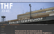 Screenshot Web-Site thf33-45.de